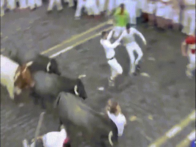 Video: Cảnh người bị bò tót húc rùng rợn ở TBN