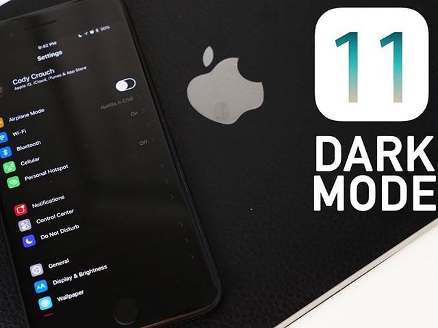 Cách kích hoạt chế độ Dark Mode ẩn có trên iOS 11