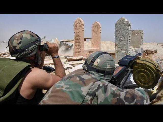 Khủng bố IS dồn lực lượng tinh nhuệ nhất đánh trận quyết tử