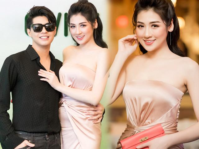 """""""Bạn gái Noo Phước Thịnh"""" mặc xẻ cao ngút thu hút mọi ánh nhìn"""