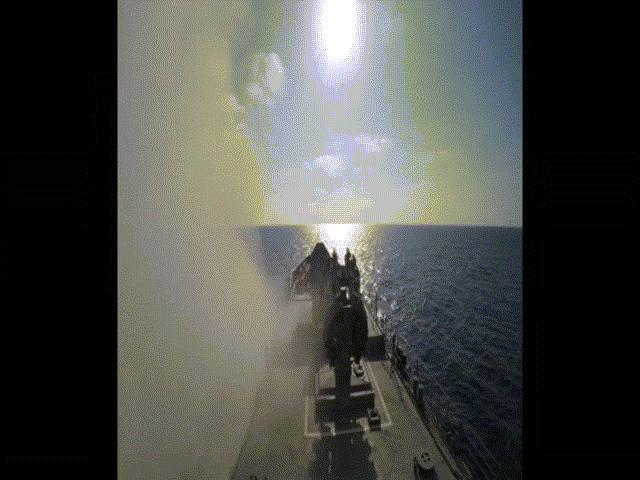 Tàu chiến Nga nã tên lửa hành trình diệt khủng bố IS