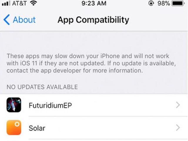 Cách kiểm tra ứng dụng của bạn có tương thích với iOS 11 hay không