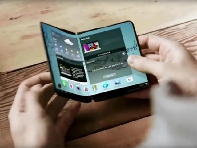 Smartphone có thể gập lại – Galaxy X sẽ được ra mắt vào cuối năm nay