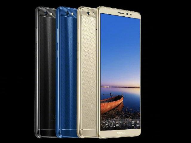 Gionee M7 màn hình FullVision, camera kép, giá 9,6 triệu đồng