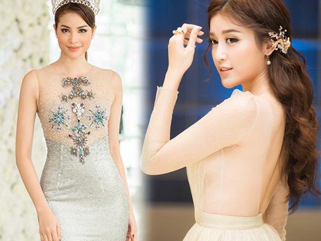 """Top váy """"mặc như không"""" gây xôn xao nhất của mỹ nữ Việt"""