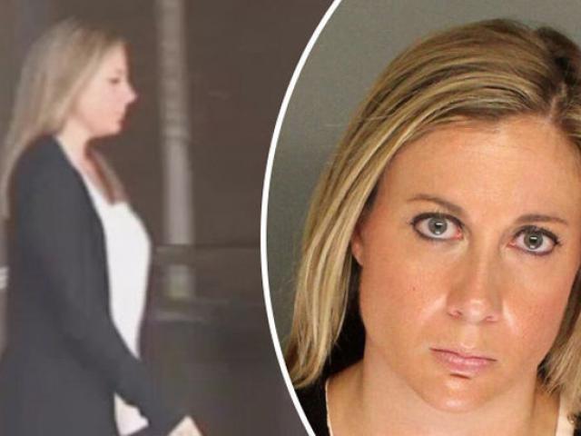 Bị bắt vì quan hệ với học sinh, nữ giáo viên Mỹ vẫn tái phạm