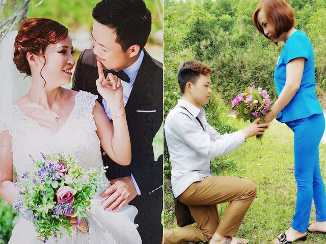 """Chàng trai 26 lấy vợ 61 tuổi ở Cao Bằng """"gây bão"""" dân mạng"""