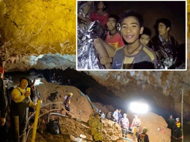 """Thợ lặn chỉ cách """"sốc"""" đưa đội bóng Thái Lan thoát khỏi hang"""