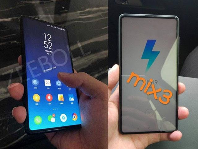 Lộ ảnh Xiaomi Mi Mix 3 với thiết kế viền mỏng đỉnh cao