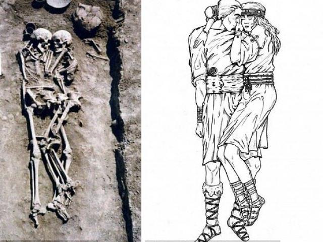 Ukraine: Tình nguyện chôn sống để ôm chồng suốt 3.000 năm dưới mộ