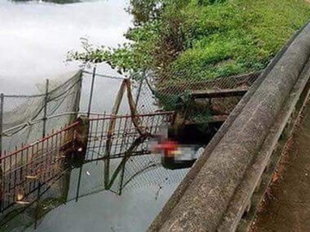 Phát hiện đôi nam nữ chết bí ẩn dưới hồ câu cách nhau 10m