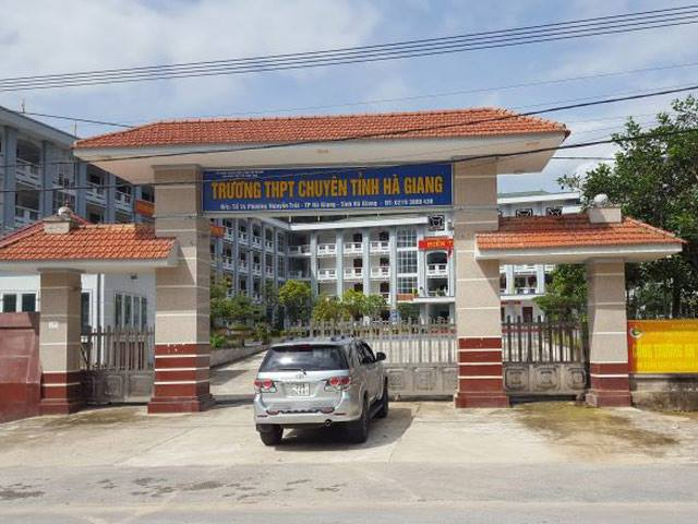 Bộ GD-ĐT công bố danh tính người can thiệp vào kết quả thi ở Hà Giang