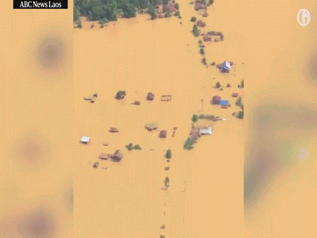 Vỡ đập khủng khiếp ở Lào, 5 tỷ m3 nước cuốn trôi hàng trăm người