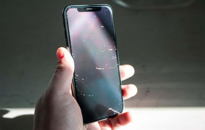 iphone x bị xước