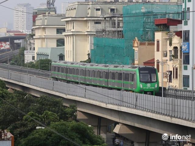 Lãnh đạo đường sắt nói gì về giá vé tàu Cát Linh- Hà Đông?