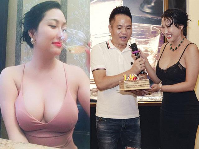 Dự sinh nhật bạn thân, Phi Thanh Vân khiến khách mời choáng khi diện váy hở bạo