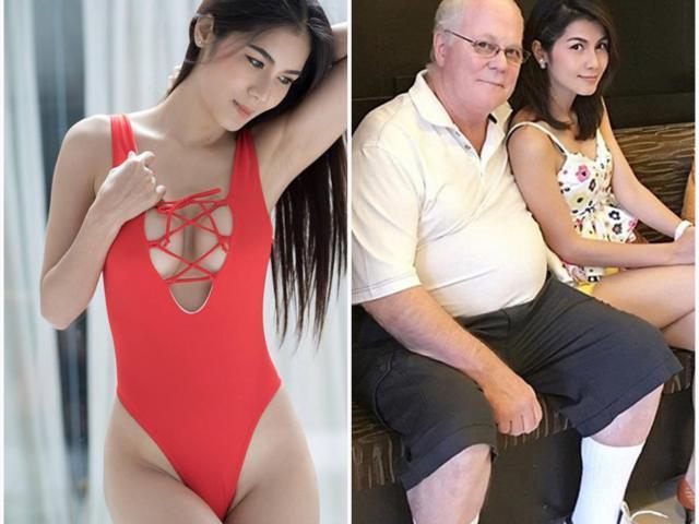 Đời thực của mỹ nữ Thái Lan từng kết hôn với triệu phú 70 tuổi