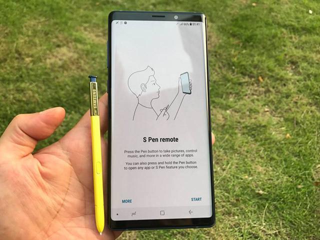 """Những tác vụ kết nối cuộc sống """"tưởng chừng không thể"""" trên Galaxy Note9"""