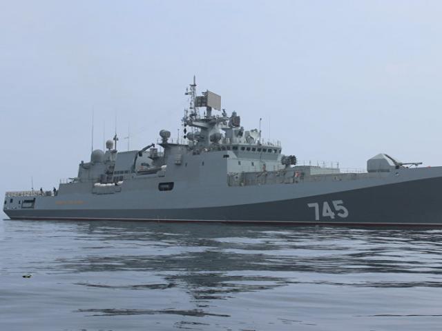 """Nga điều chiến hạm mang tên lửa hành trình ngăn Mỹ """"dội bão lửa"""" Syria"""