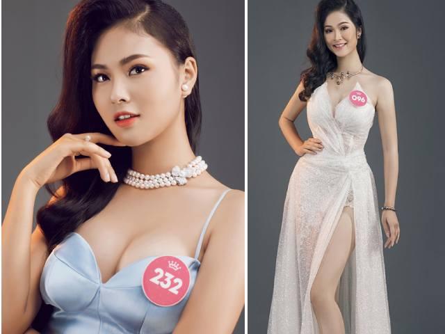 Thí sinh Hoa hậu Việt Nam 2018 tung ảnh dạ hội cực gợi cảm