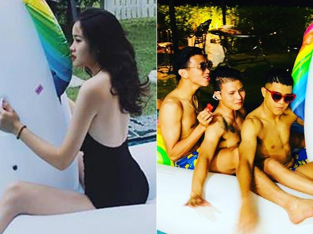 Bạn gái Văn Hậu, Quang Hải U23 khoe ảnh đi nghỉ dưỡng với bạn trai