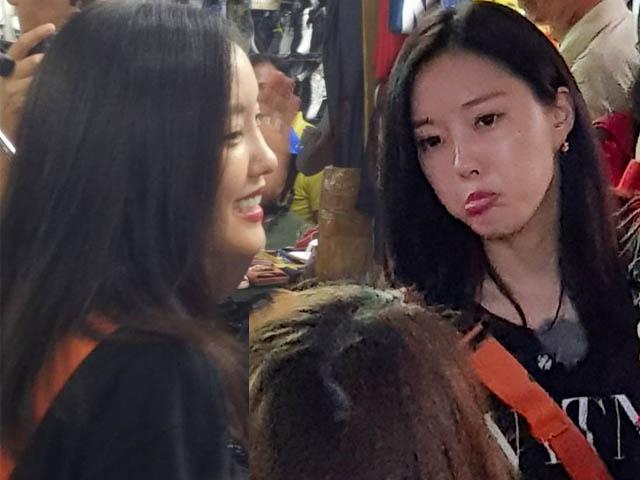 Mỹ nhân T-ara bị chủ shop ở chợ Bến Thành la ó vì hành động này