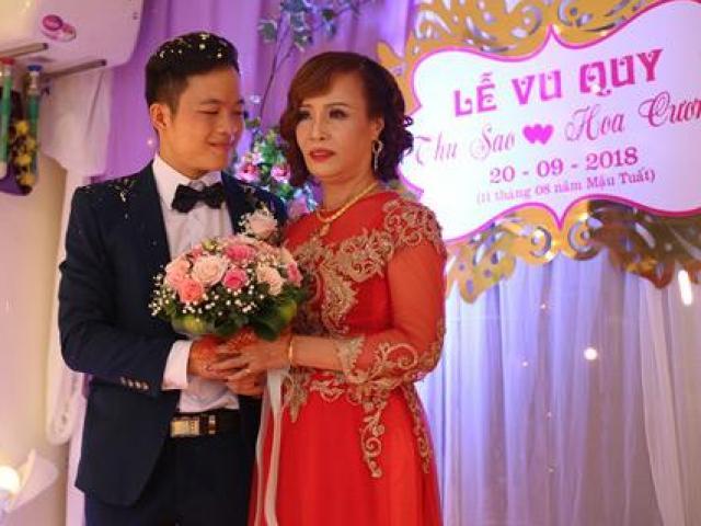 """Cận cảnh đám cưới có """"1-0-2"""" của cô dâu 61 tuổi lấy chồng 26"""