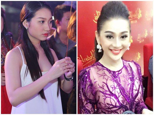 Lâm Khánh Chi và dàn sao nữ gây tranh cãi vì trang phục đi cúng Tổ nghề