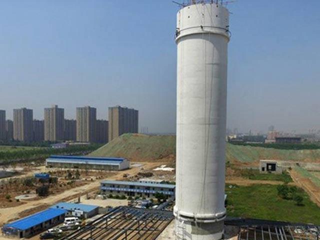 Xem tháp lọc không khí lớn nhất thế giới ở Trung Quốc