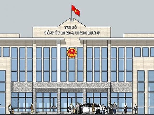 """Hà Nội tính mặc """"đồng phục"""" cho 500 trụ sở xã, phường"""