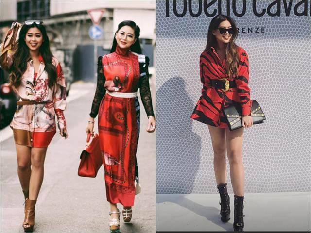 Em chồng và mẹ chồng Tăng Thanh Hà dát kín đồ hiệu giữa kinh đô thời trang