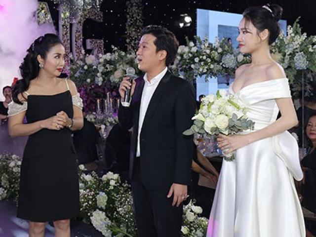 MC đám cưới của Nhã Phương chính là cô gái Trường Giang yêu thầm 17 năm trước