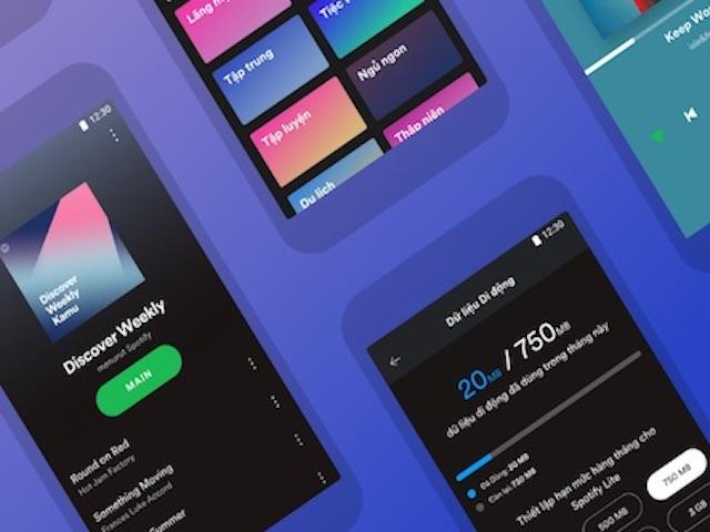 Nghe nhạc online tiết kiệm lưu lượng 3G/4G hơn với ứng dụng Spotify Lite