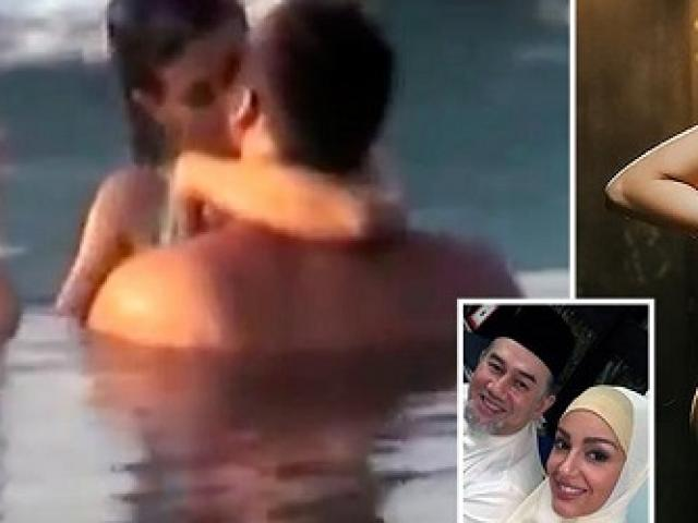 Cựu vương Malaysia ly hôn người đẹp Nga: Con trai không phải con đẻ?