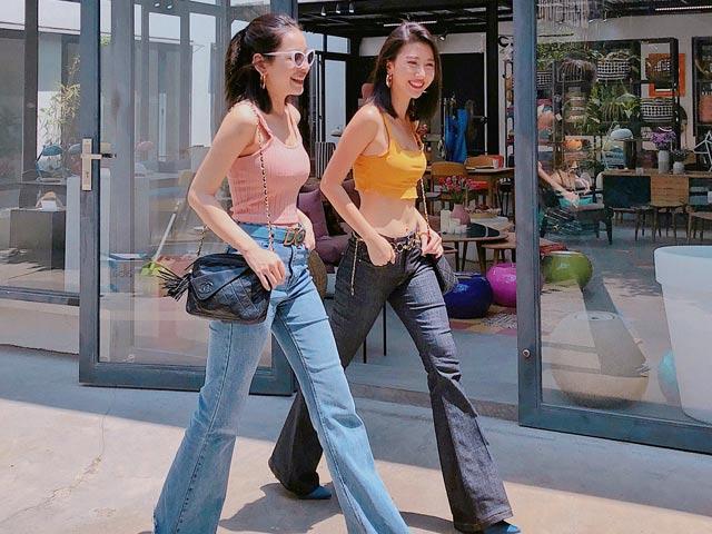 """Thân nhau phải diện đồ đôi, Quỳnh Anh Shyn + Chi Pu là """"cặp bài trùng thời trang"""""""