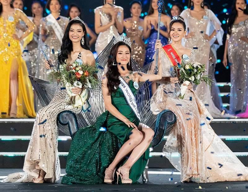 Top 3 Miss World Vietnam 2019 bị nhận xét còn