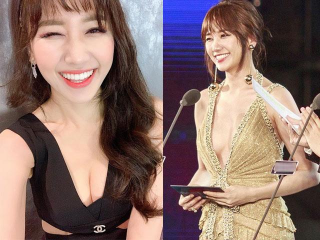 """34 tuổi, Hari Won mặc """"o ép"""" vòng 1 khoe vẻ đẹp gợi cảm"""