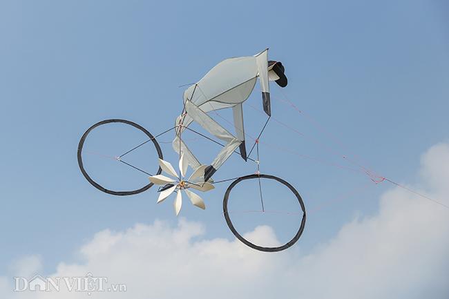 diều xe đạp độc