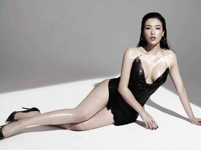 Á hậu Biển thi Hoa hậu Hoàn vũ VN có vòng 3 bị đồn can thiệp thẩm mỹ