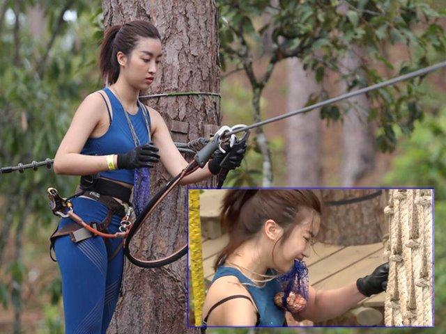 Hoa hậu Mỹ Linh mắc sự cố hớ hênh trang phục trên truyền hình, làm sao để tránh?