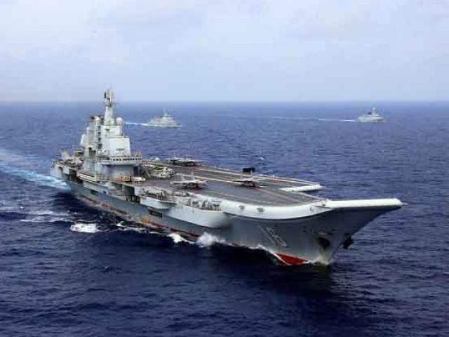 """Hình ảnh hạm đội tàu sân bay """"ẩn"""" của Trung Quốc"""