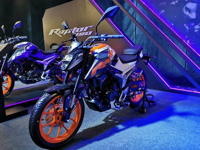 Quá tuyệt GPX Raptor 180 giá chỉ 44,7 triệu đồng hút dân chơi môtô