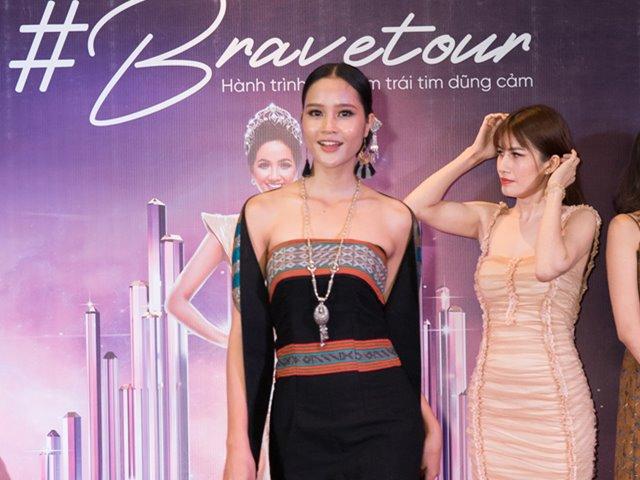 Nhan sắc xinh đẹp của cô gái dân tộc Ve thi Hoa hậu Hoàn vũ Việt Nam 2019