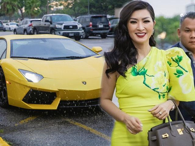 Hồng Nhung giàu cỡ nào khi đeo nhẫn 30.000 USD, lái Lamborghini 500.000 USD?