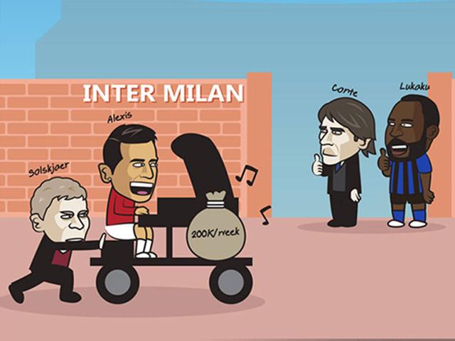 """Ảnh chế: Đẩy Sanchez sang Inter Milan, MU vẫn không """"thoát nợ"""""""