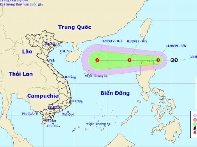 Áp thấp nhiệt đới khả năng đi vào Biển Đông, mạnh lên thành bão số 5