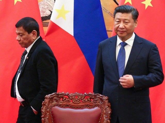 Ông Tập nói với ông Duterte biển Đông là tài sản Trung Quốc
