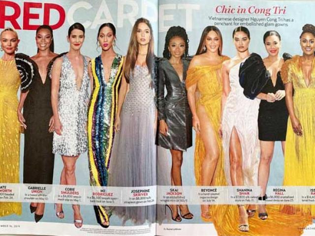 Báo nước ngoài công khai giá những bộ đầm Công Trí được sao thế giới mặc