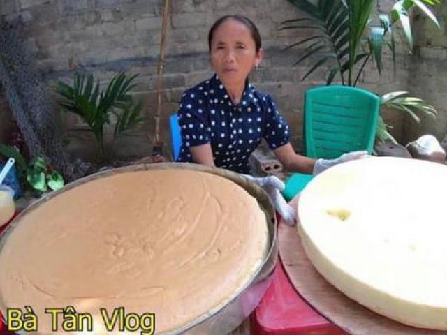 Bà Tân Vlog bị chỉ trích vì gian dối clip làm bánh bông lan trứng muối khổng lồ