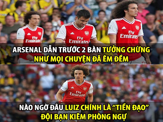 """Ảnh chế: """"Công làm thủ phá"""" khiến Arsenal phải ôm hận"""